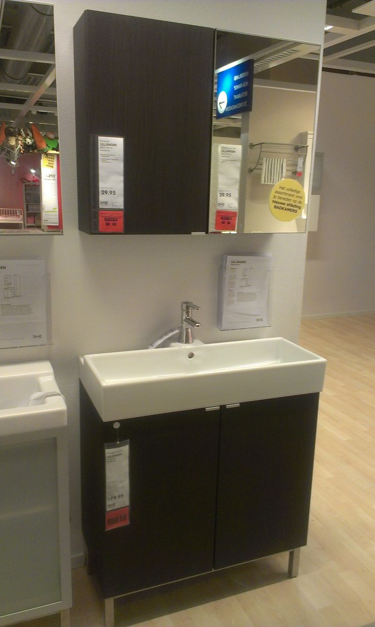 Ikea lillangen bathroom mirror cabinet - Ikea Lillangen