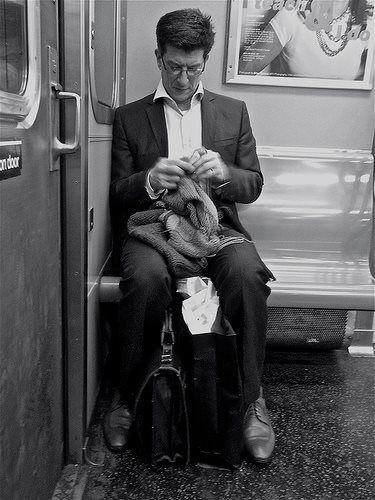 """Façon """"comment passer le temps dans le métro Newyorkais"""""""
