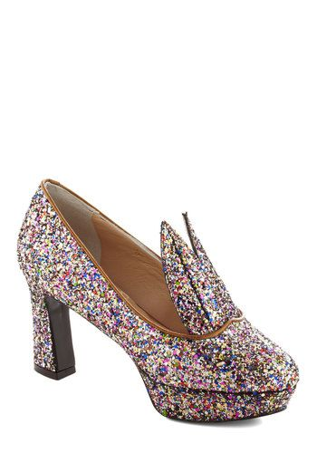 Cottontail Twinkle Heel, #ModCloth i wish i were cool enough to rock these. or, you know, afford them.