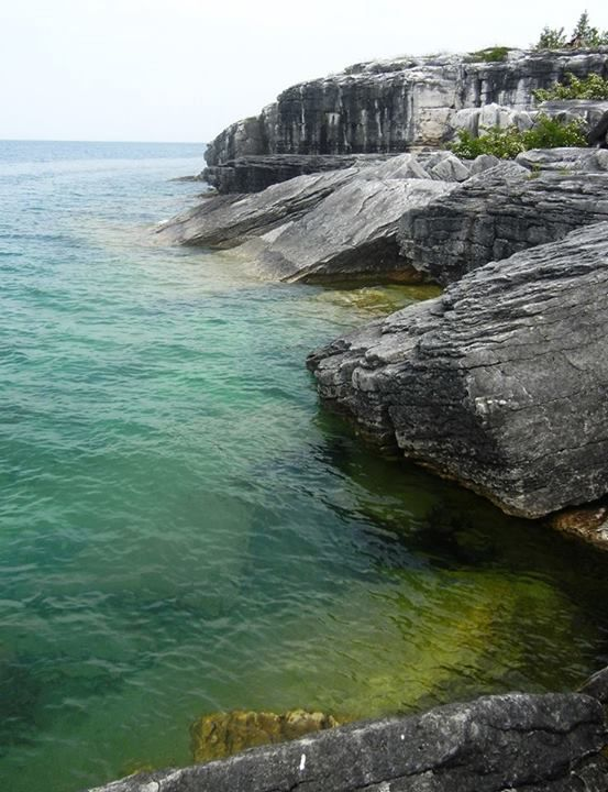 This is the shoreline down by the Mississagi Lighthouse. Meldrum Bay is an amazing place to visit. All those who live there - I hope you know how incredibly lucky you are!!!   posted on facebook by Juliette Medeiros  https://www.facebook.com/MeldrumBayInn