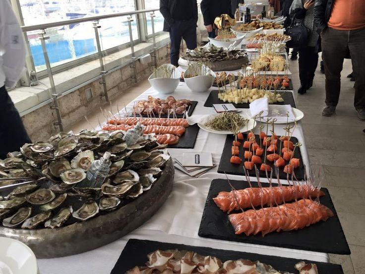 Buffet di delizie del territorio e creatività dello Chef Raffaele Casale #terrazzabellavista #lelamparealfortino #TakItaly vinoway