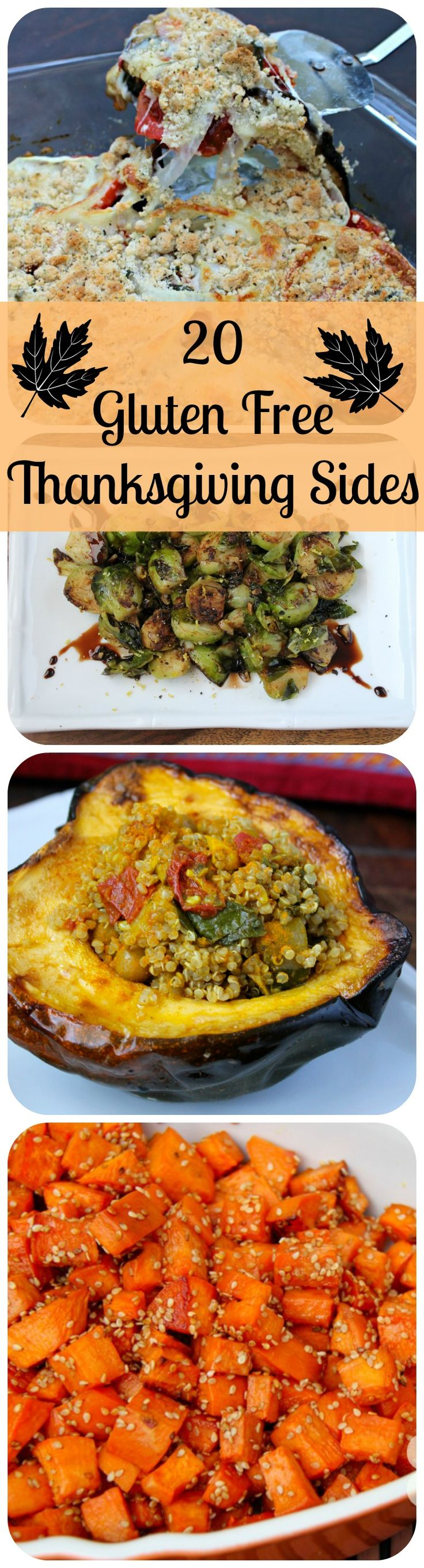 20 Gluten-Free Thanksgiving Side Dishes @ Healy Eats Real #gluten #glutenfree #thanksgiving