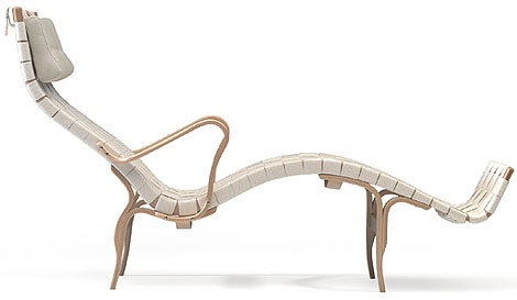 """Timeless comfort and beauty - """"Pernilla""""- by Swedish designer and industry icon Bruno Mathsson"""