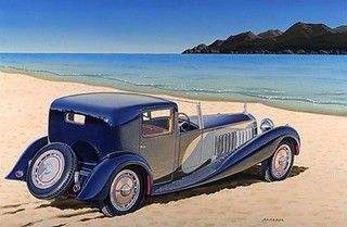 The 1931 Bugatti Royale is just a work of art.