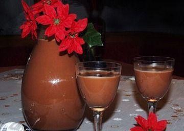 Čokoládový likér se skořicí