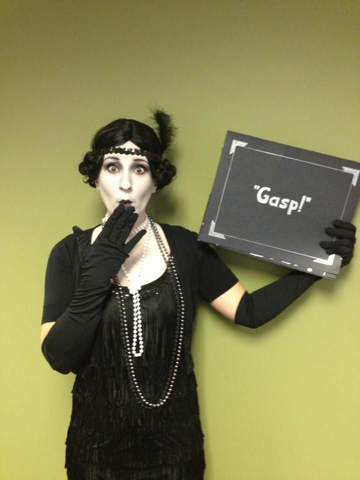 My Silent Movie Star Costume