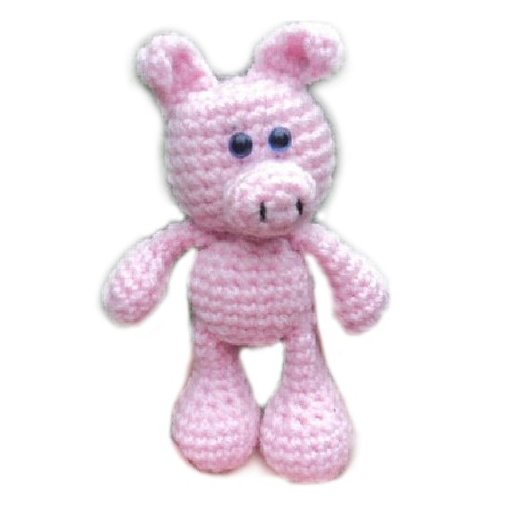 images about Animalspigs Crochet pig, Pigs