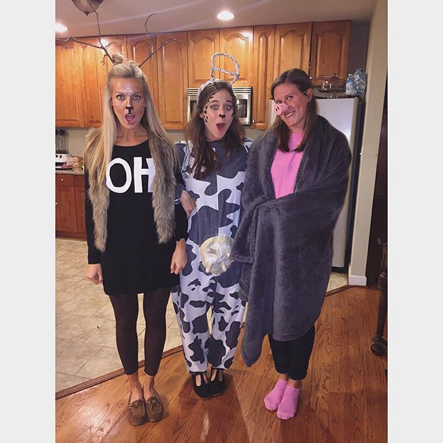 43 punny halloween costumes that wont break the bank - 4 Girls Halloween Costumes