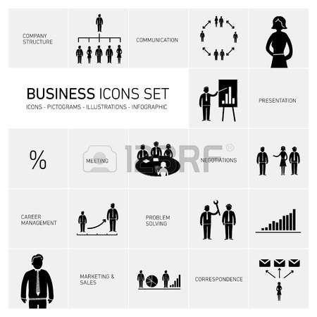 ベクトル抽象的な正方形のビジネス人々 の絵文字アイコンとタイポグラフィの図の背景 |あなたのコンテンツを配置する準備ができて