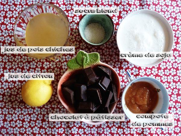 Mousse au chocolat végétalienne_©Kaizen_ingrédients