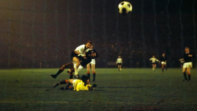 WM Qualifikation 1969: Deutschland-Schottland 3:2- Stan Libudas Siegtreffer
