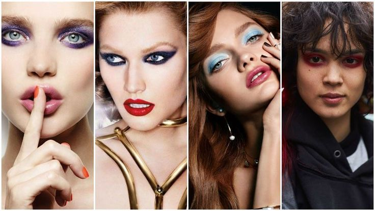 Intense Eyeshadow 80s Fashion Trend