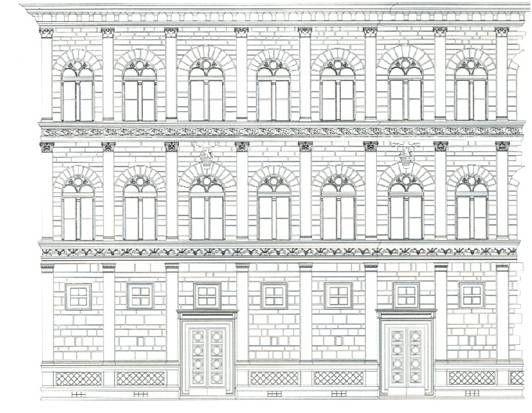 Palazzo rucellai renaissance florentine quattrocento for Architecture quattrocento