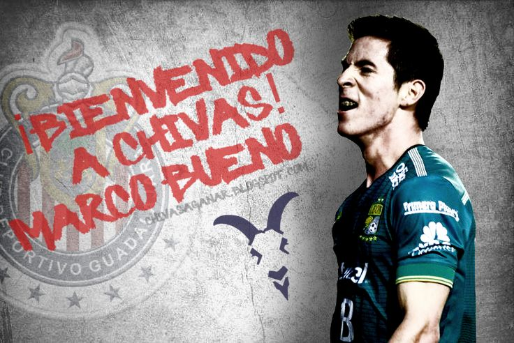 OFICIAL: MARCO BUENO LLEGA A CHIVAS Chivas hace oficial la contratación de Marco Bueno, quien llega a préstamo. El Rebaño realizó su primera contatación para el Apertura 2016.