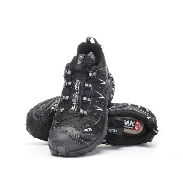 Salomon GTX, I've gone through four pairs of these since 2004.