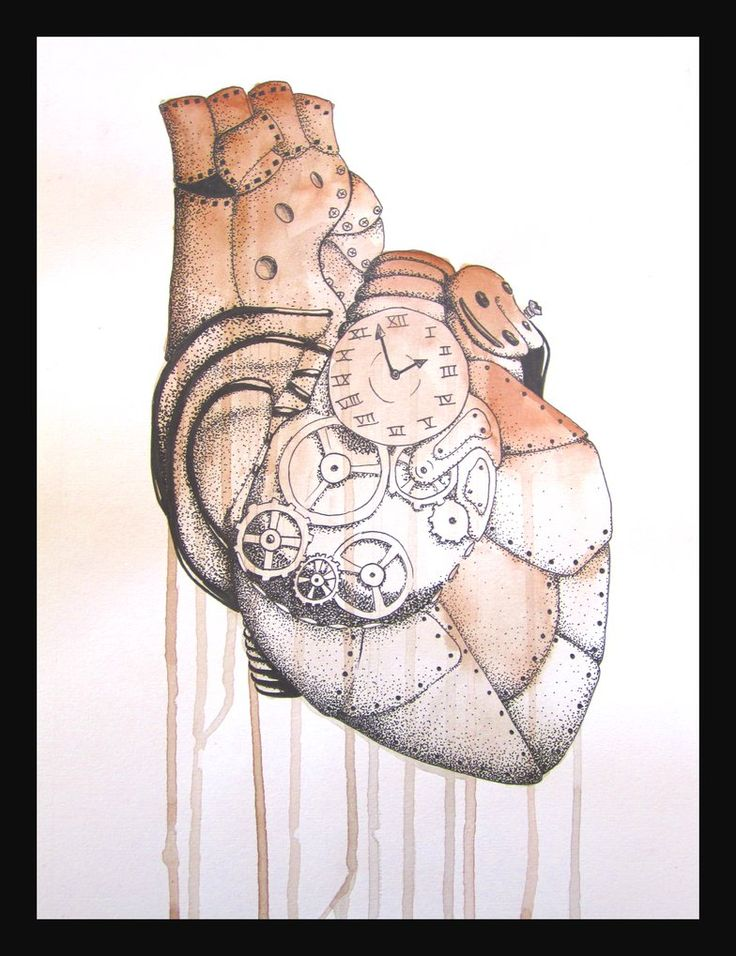steampunk heart | Steampunk Heart by paandra on deviantART