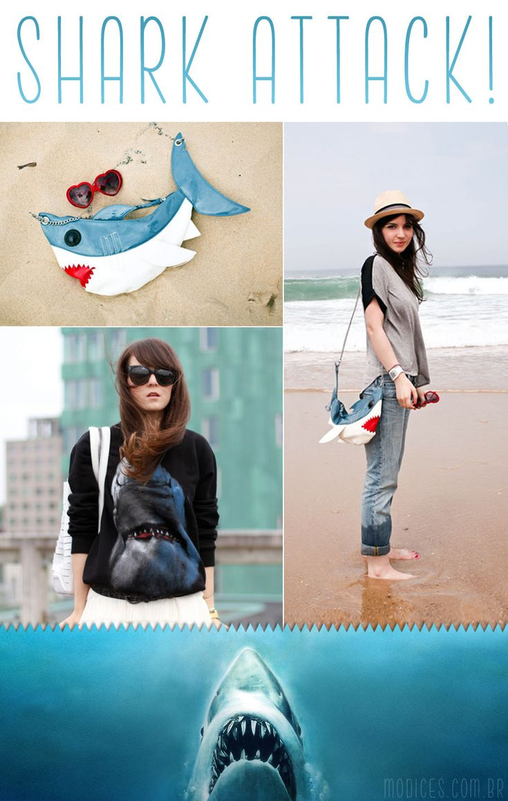SHARK ATTAAAAACK!! (yes, @Judy Plante CW, this one's for u ;) ...and i really want this purse-!!!