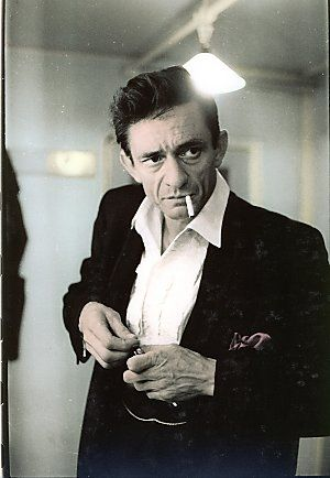 """""""I'd like to wear a rainbow every day, and tell the world that everything is o.k. But I'll try to carry off a little darkness on my back. Until things are brighter, I'm the Man in Black."""" Cash"""