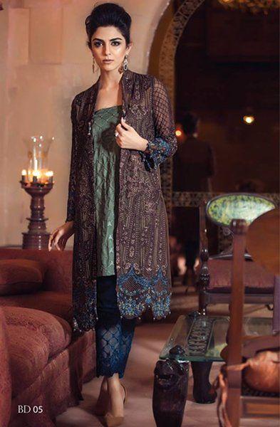Maria B Gorgeous Eid Dresses 2016 (6)