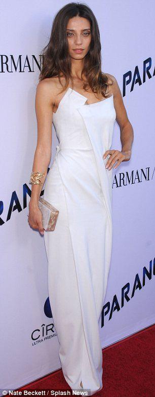 Angela Sarafyan + gown