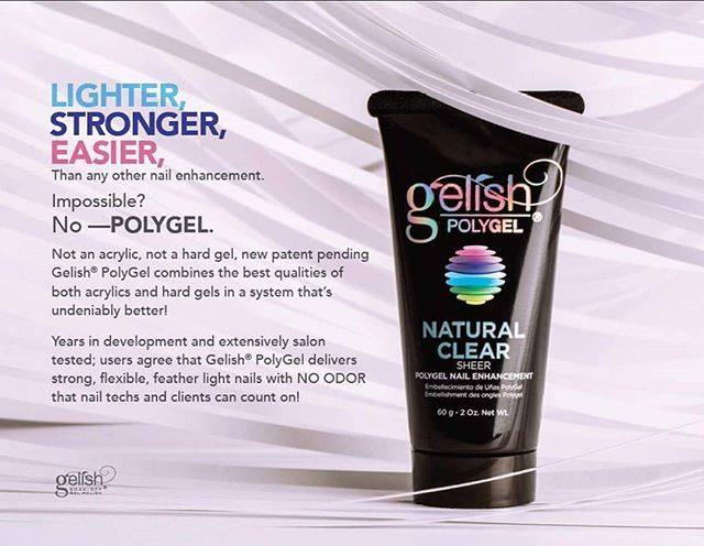 Today Gelish launched Polygel in London. Excited is an understatement. We will be broadcasting live from @pro_beauty01 tomorrow on the Gelish stand