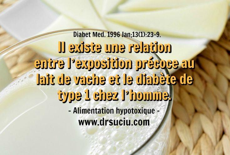 Photo Le diabète et le lait de vache - drsuciu