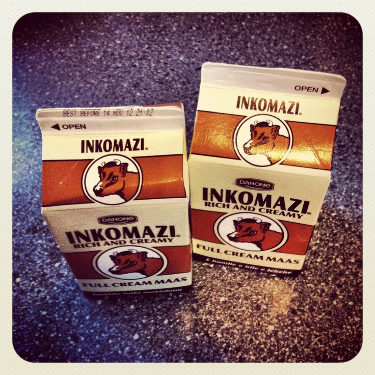 Inkomazi | Full cream maas | Iconic South African brand | Source: http://smlehoko.tumblr.com/post/34643971737/this-with-a-bit-of-fresh-cream-and-fresh-bread