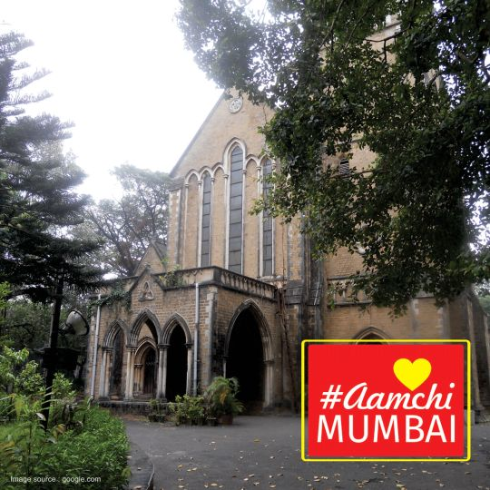 The church in Navy Nagar, Colaba which began as a small thatched chapel now is known as one of the heritage structure. Guess the name of church in ‪#‎AamchiMumbai‬