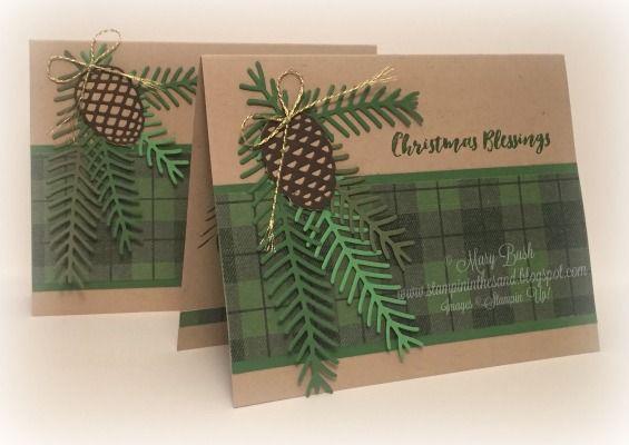 One Sheet Wonder Christmas Pines