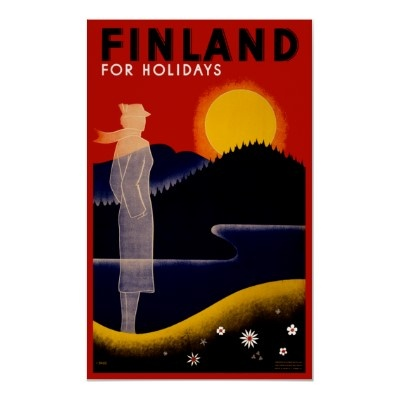 Finland for holidays. Land of a midnight sun!