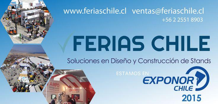 Expertos en diseño y montje de stand www.FeriasChile.cl