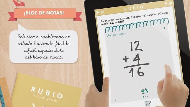Las apps educativas más atractivas para el verano. Apps quaderns Rubio