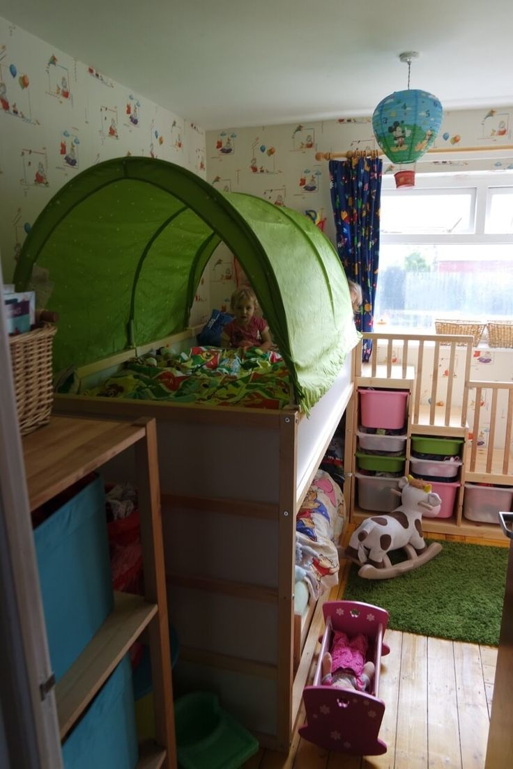 Toddler bunk bed ikea - Our Ikea Hack Toddler Friendly Bunkbed Kura Kritter Trofast