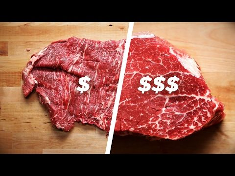 Tasty teaches us how to cook cheap and expensive steak, but the internet says their method ain't got sh*t on wood fire grilled! | Shock Mansion