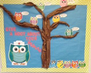 School Nurse Bulletin Board