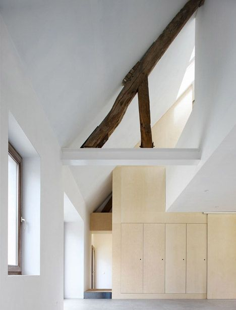 This renovated old farmhouse is located in Walhain, Belgium.