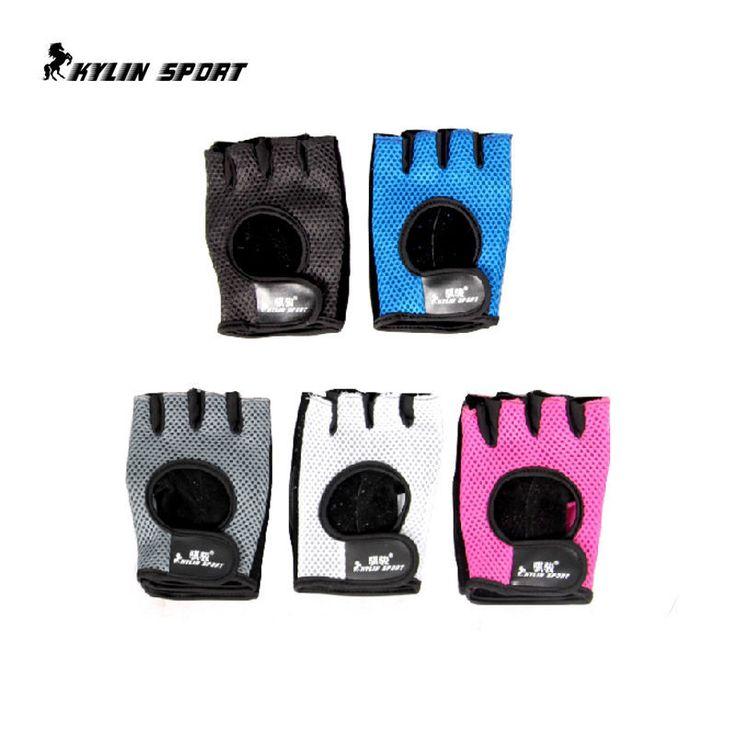 Сетка фитнес перчатки мужские и женские модели летние велосипед езда перчатки половины пальцев перчатки спортивные перчатки мужской пот