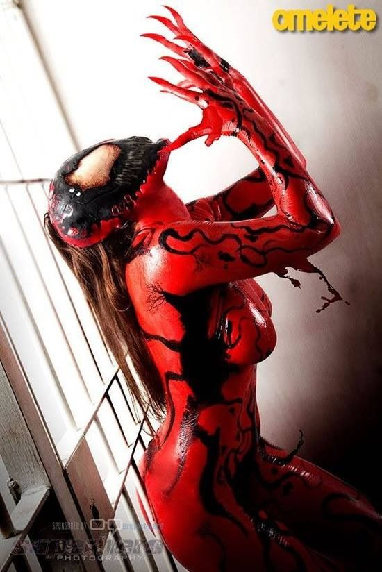 Carnage Cosplay....this is incredibly epic
