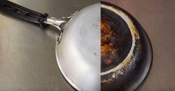 Orice gospodina a avut cel puţin o dată în viaţă parte de o experienţă culinară dezastruoasă în urma căreia şi mâncarea şi oală în care a fost gătită s-au ars. Sigur ți s-a întâmplat și ție să se m…