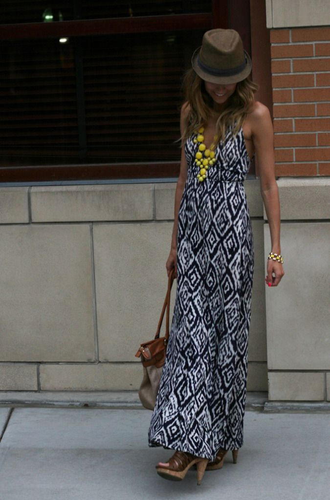 Dress: F21  Hat: Nordstrom similarhere  Shoes: TJ Maxx - MIA  Bag: ALDO