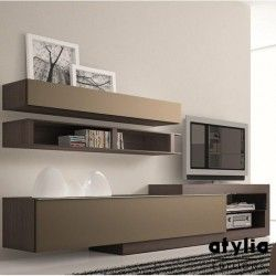 1000 id es sur le th me meuble tv suspendu sur pinterest. Black Bedroom Furniture Sets. Home Design Ideas