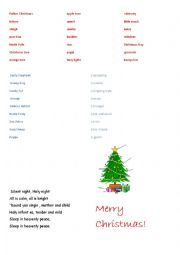 English worksheet: Christmas lesson with Peppa Pig