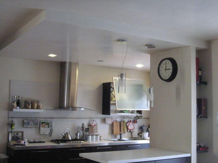 Opere in Cartongesso controsoffitto cucina e nicchia ingresso (3)