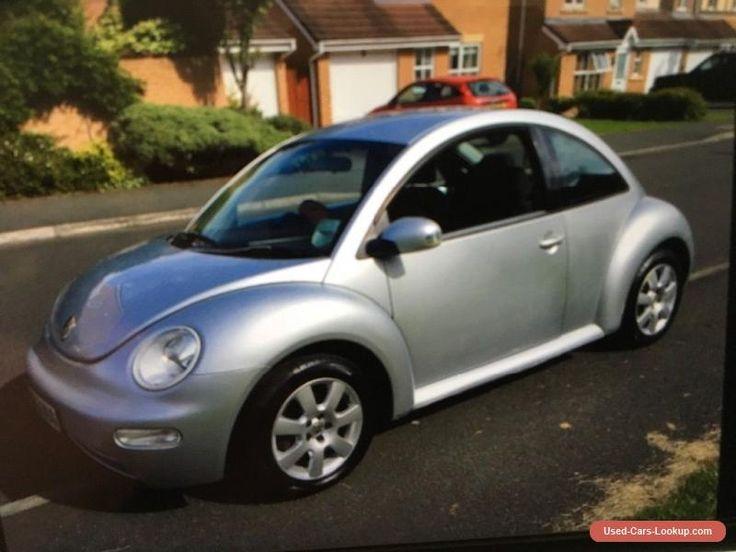 VW Beetle 2.0 2003 53 Silver Aircon Full Mot #vwvolkswagen #beetle #forsale #unitedkingdom