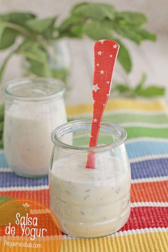 Salsa de Yogur, ideal para acompañar carnes