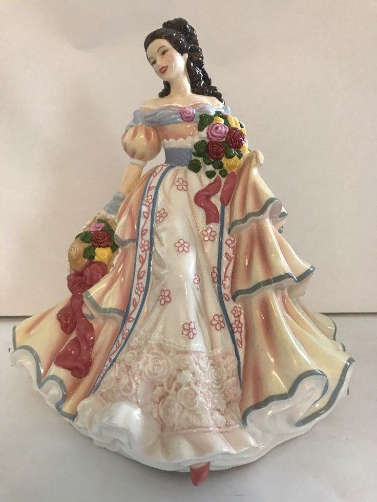 "ROYAL DOULTON HN5107 PRETTY LADIES ""SUMMER'S BELLE"" 2007 FIGURINE - MINT Rare #ROYALDOULTON"