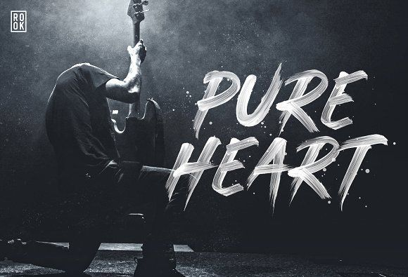 Pure Heart - Intro Offer 35% off by Greg Nicholls on @creativemarket
