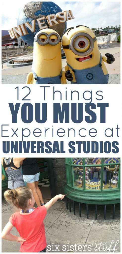 12 Things You Must Experience at Universal Studios