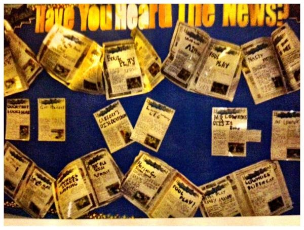 Classroom Newspaper Ideas : Best images about classroom displays on pinterest