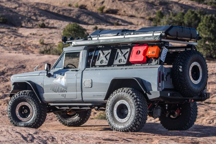 The Jeep J20 Gladiator Tomahawk 4x4 Is The Badass Overlander Of Your Dreams